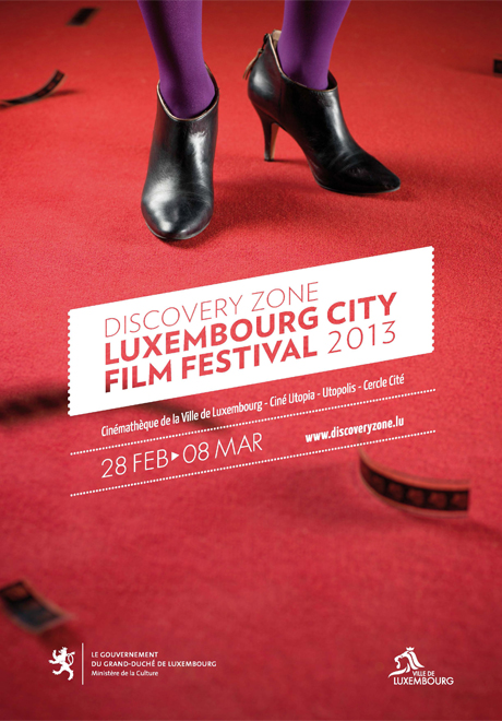 Affiche edition 2013 - Luxembourg City Film Festival