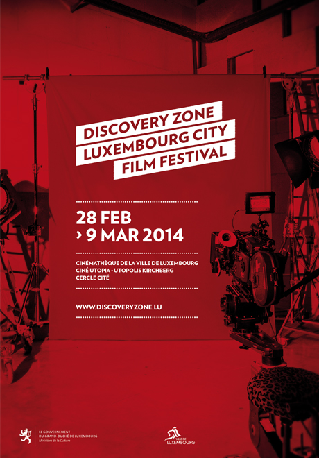 Affiche edition 2014 - Luxembourg City Film Festival